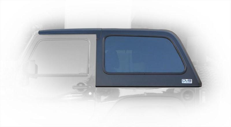 DV8 Offroad Jeep JK Hard Top Fast Back 07-18 Wrangler JK 2 Door 2 Piece