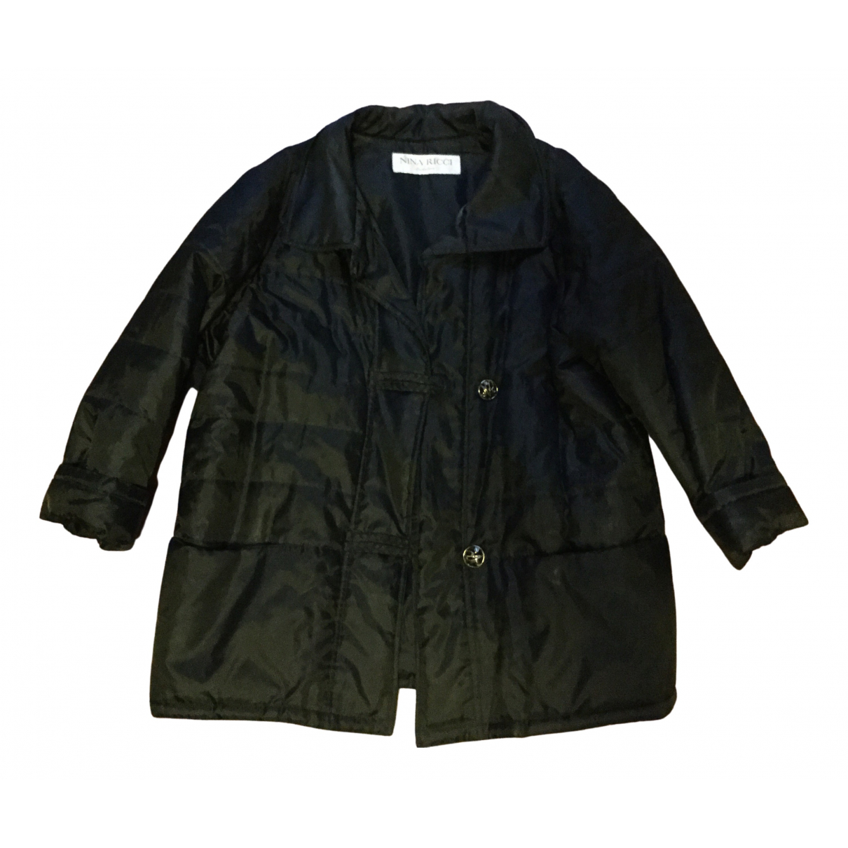 Nina Ricci \N Black coat for Women 40 FR