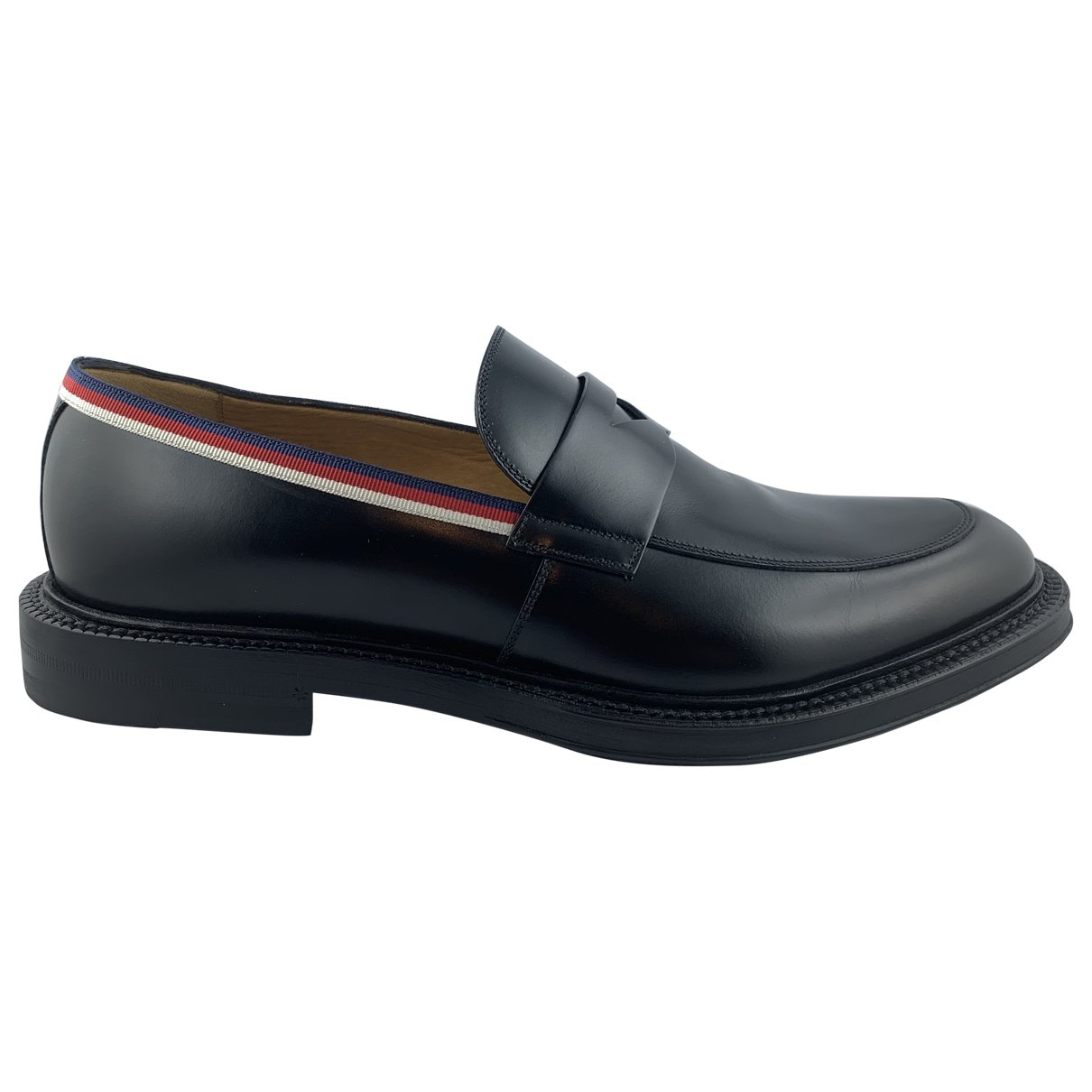 Gucci \N Black Leather Lace ups for Men 42.5 EU