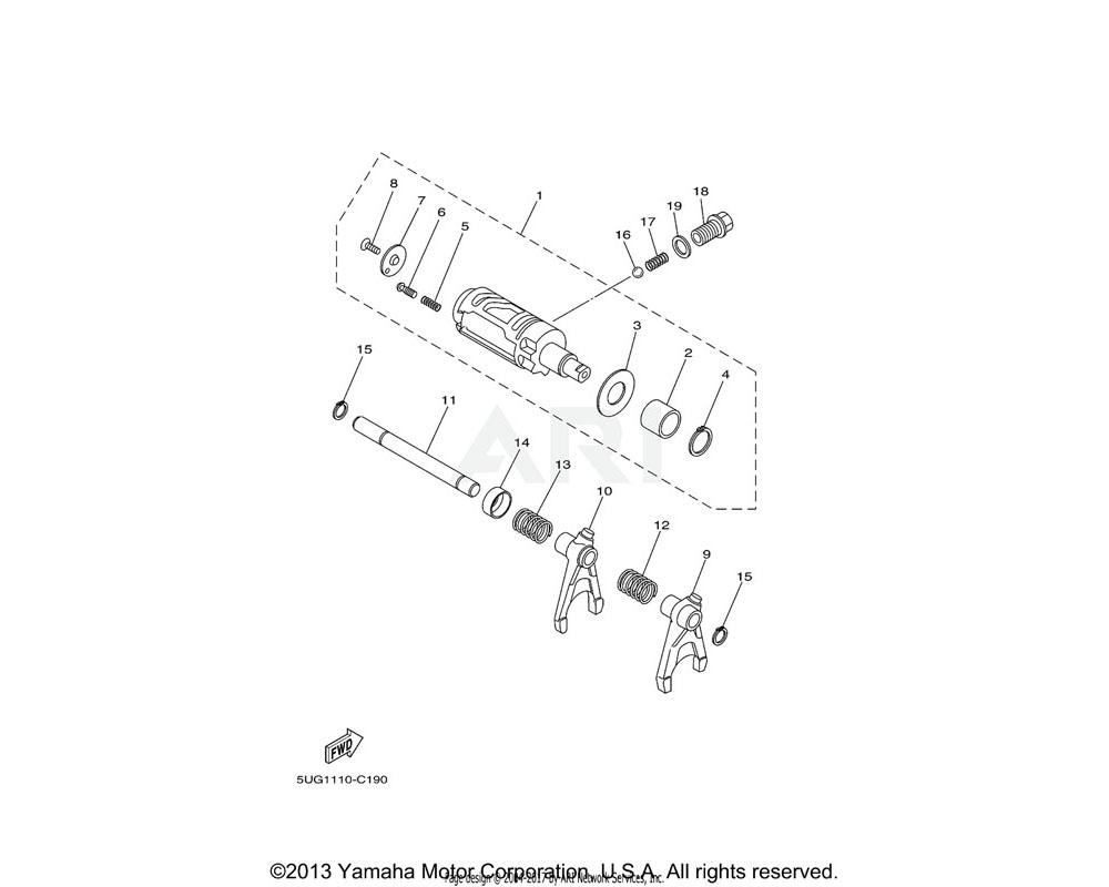 Yamaha OEM 90501-16002-00 SPRING, COMPRESSION