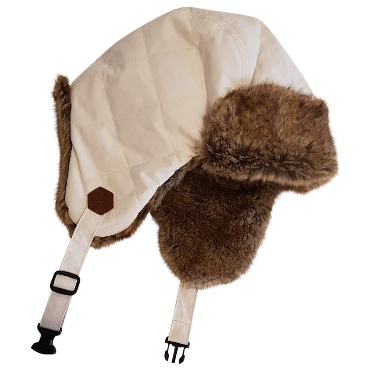 Timberland \N White Faux fur hat for Women L International