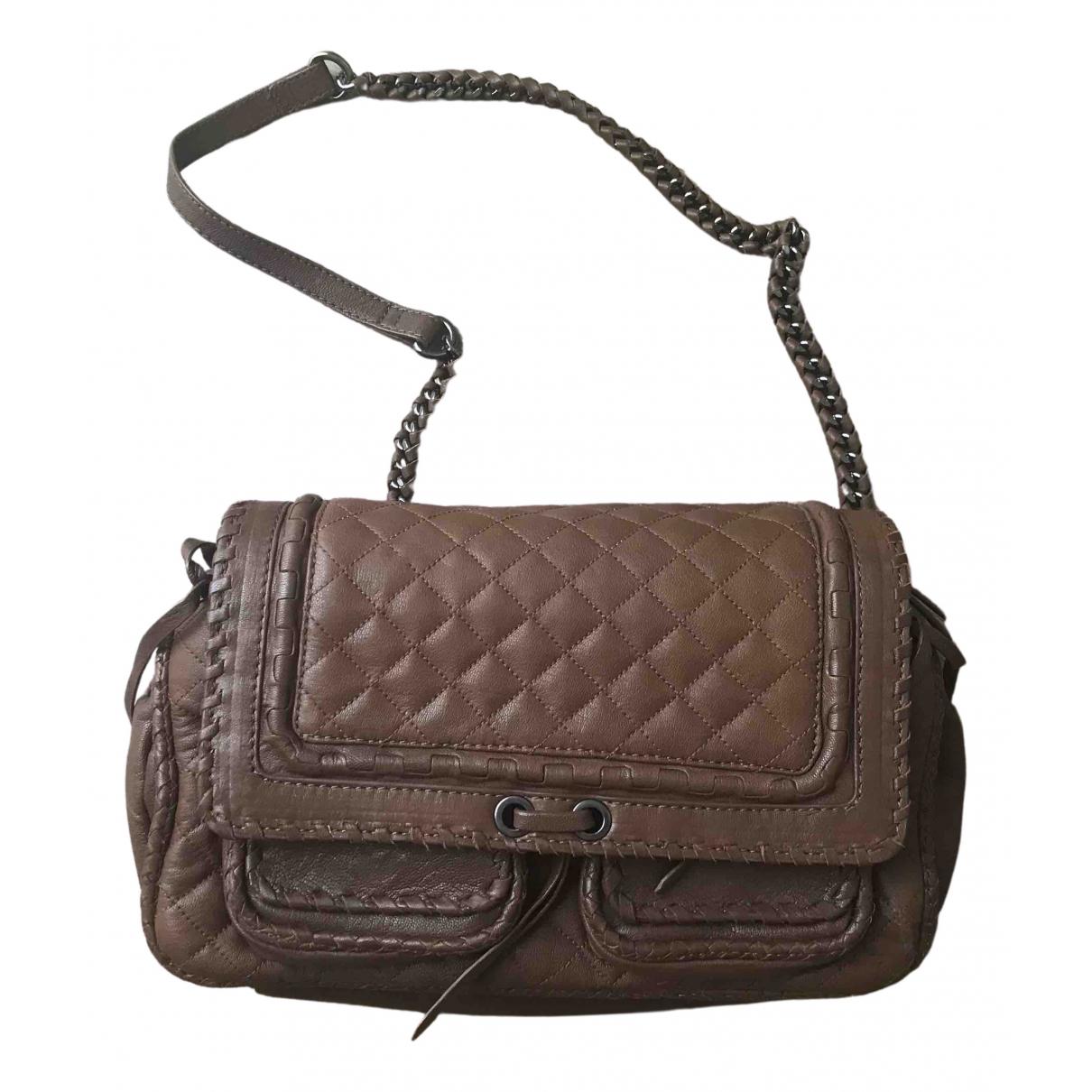 Zara N Brown Leather handbag for Women N