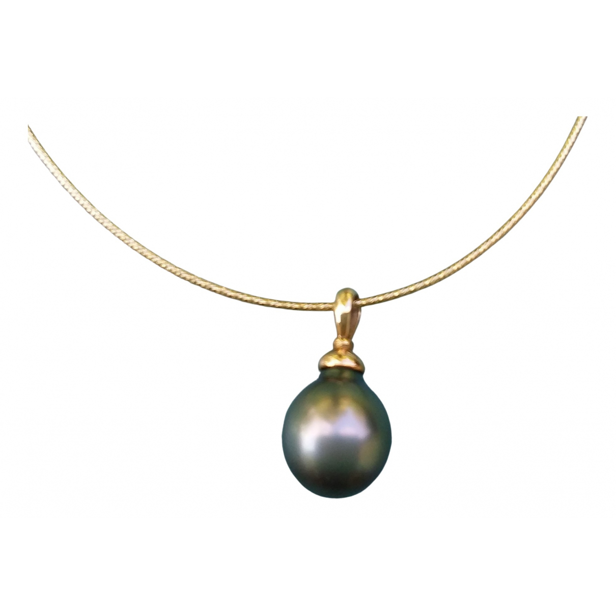 Non Signé / Unsigned N Gold Yellow gold pendant for Women N