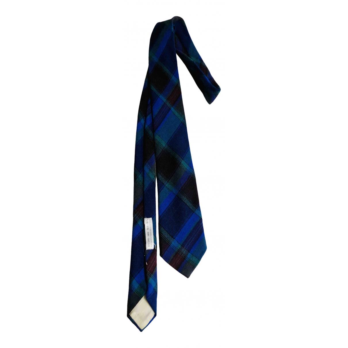 Kenzo \N Krawatten in  Blau Wolle