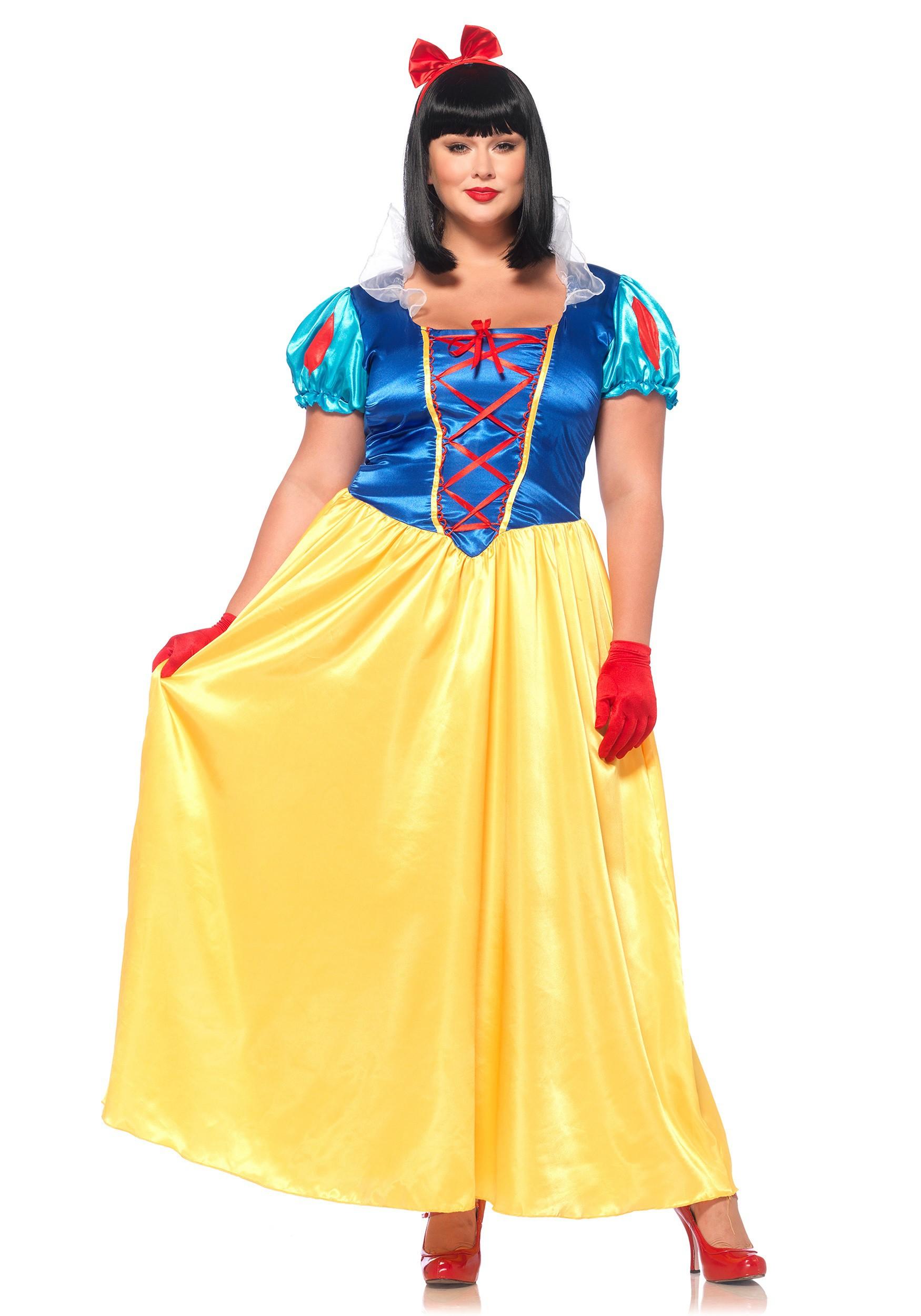 Plus Size Classic Snow White Costume | Exclusive