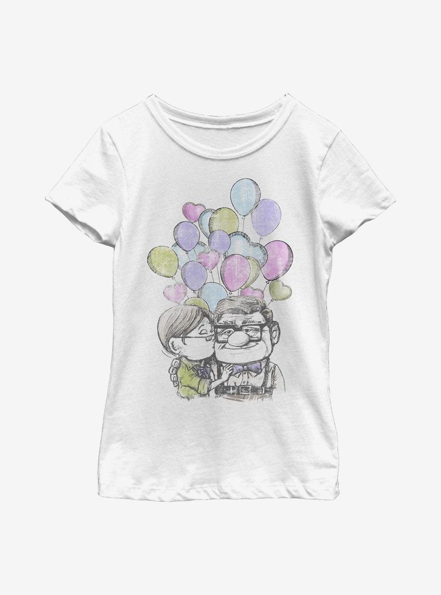 Disney Pixar Up Love Up Youth Girls T-Shirt