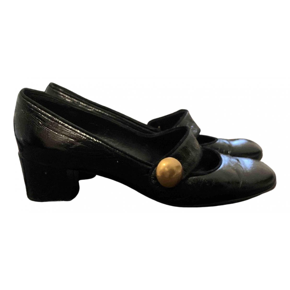 Marc Jacobs - Escarpins   pour femme en cuir verni - noir