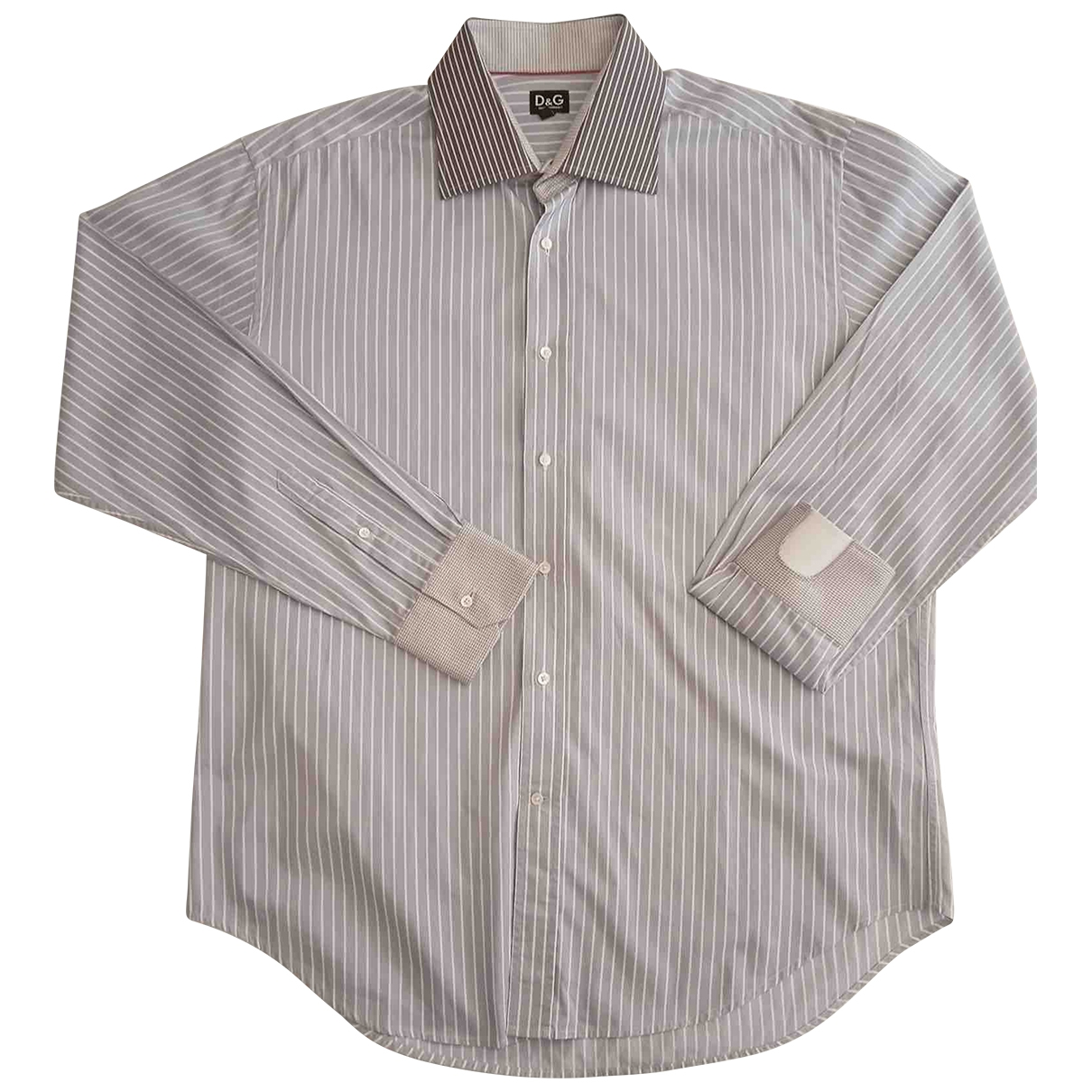 D&g - Chemises   pour homme en coton - gris