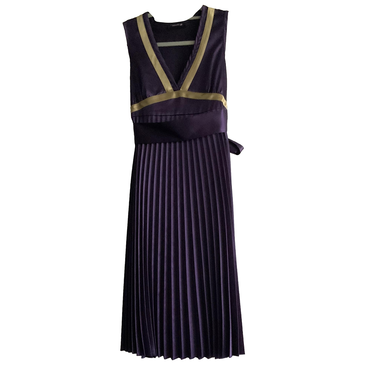 Non Signé / Unsigned \N Purple dress for Women S International