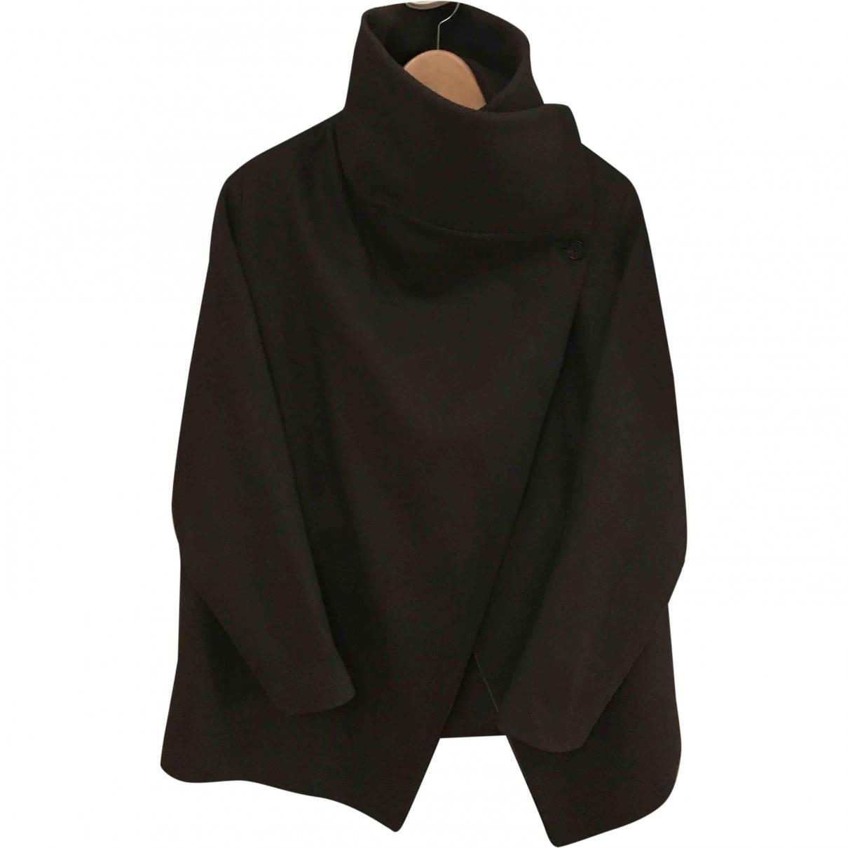 All Saints - Manteau   pour femme en laine - kaki