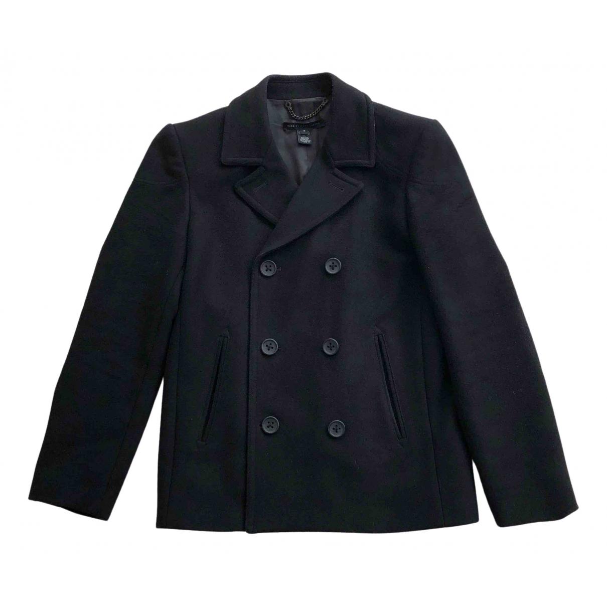 Marc By Marc Jacobs - Manteau   pour homme en laine - noir