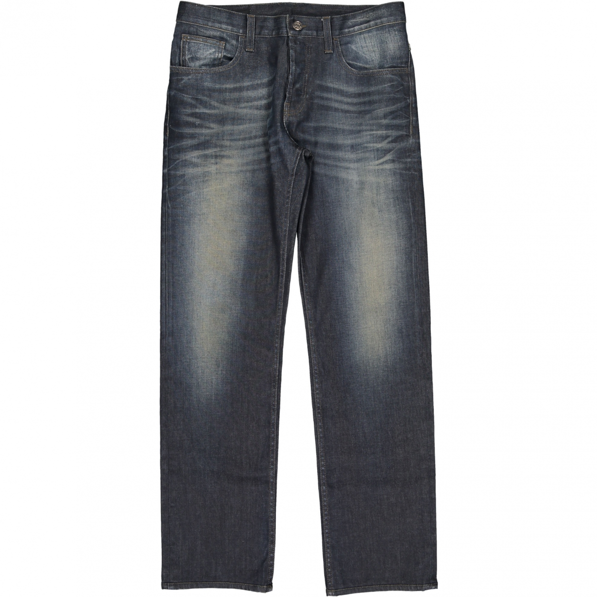 Gucci \N Blue Cotton Jeans for Men 46 FR