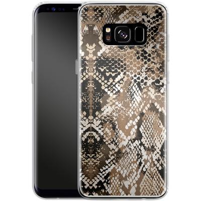 Samsung Galaxy S8 Silikon Handyhuelle - Snakeskin von caseable Designs