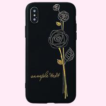 1 pieza funda de iphone con estampado floral