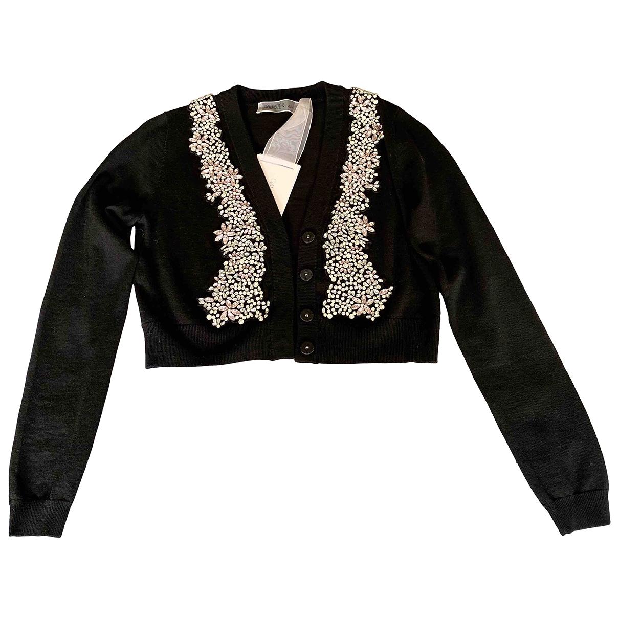 Giambattista Valli X H&m - Pull   pour femme en laine - noir