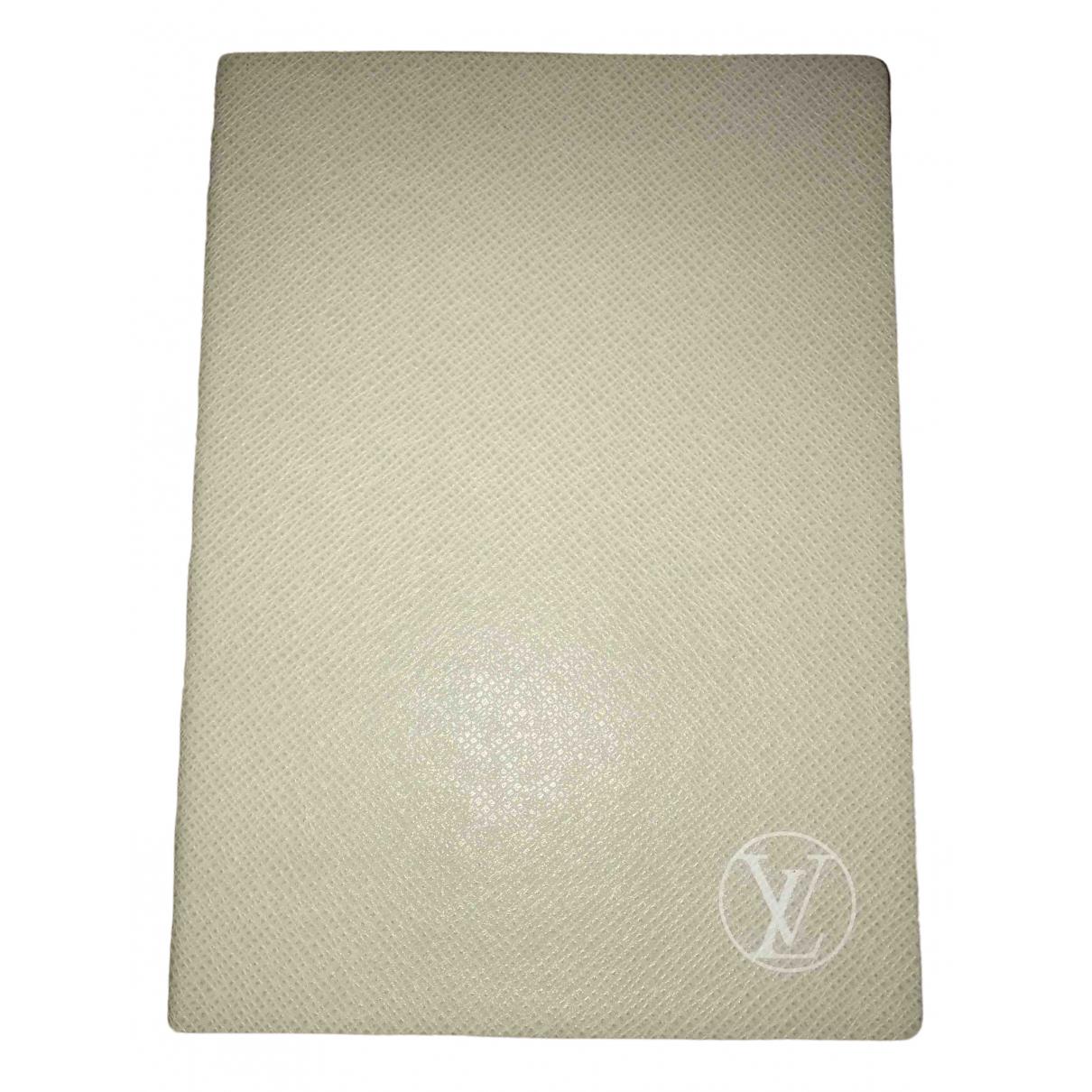 Cuaderno de Cuero Louis Vuitton
