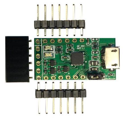 FTDI Chip USB to UART Interface Board, FT231X - LC231X