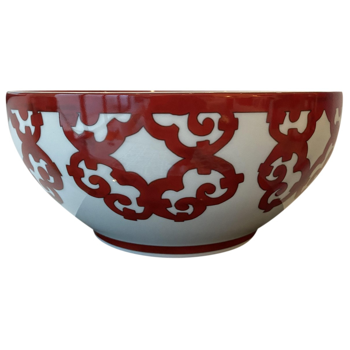 Ensaladera de Porcelana Hermes