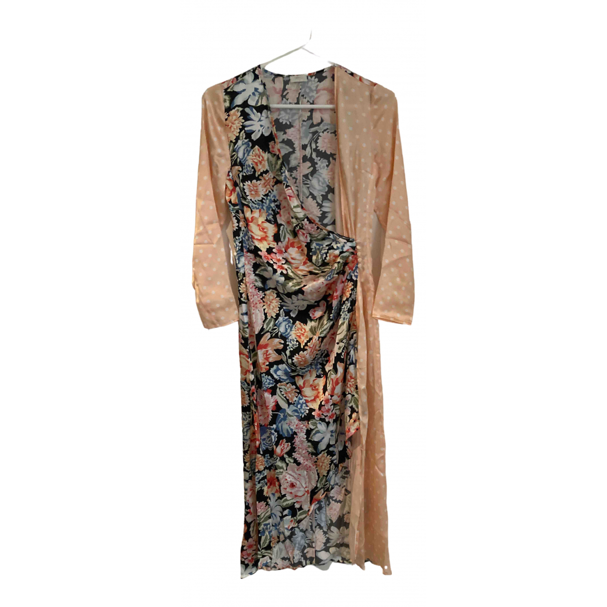 Rixo \N Multicolour Silk dress for Women S International