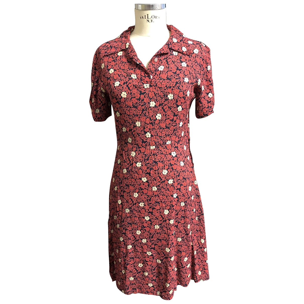 French Connection - Robe   pour femme - rouge