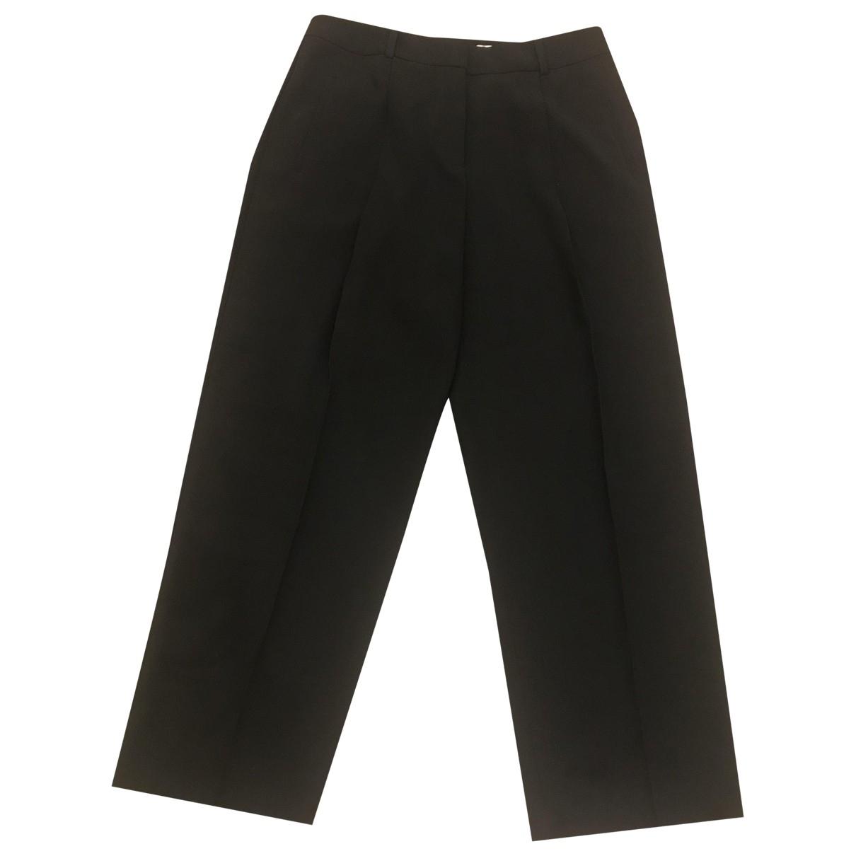 Boss \N Black Trousers for Women 40 FR