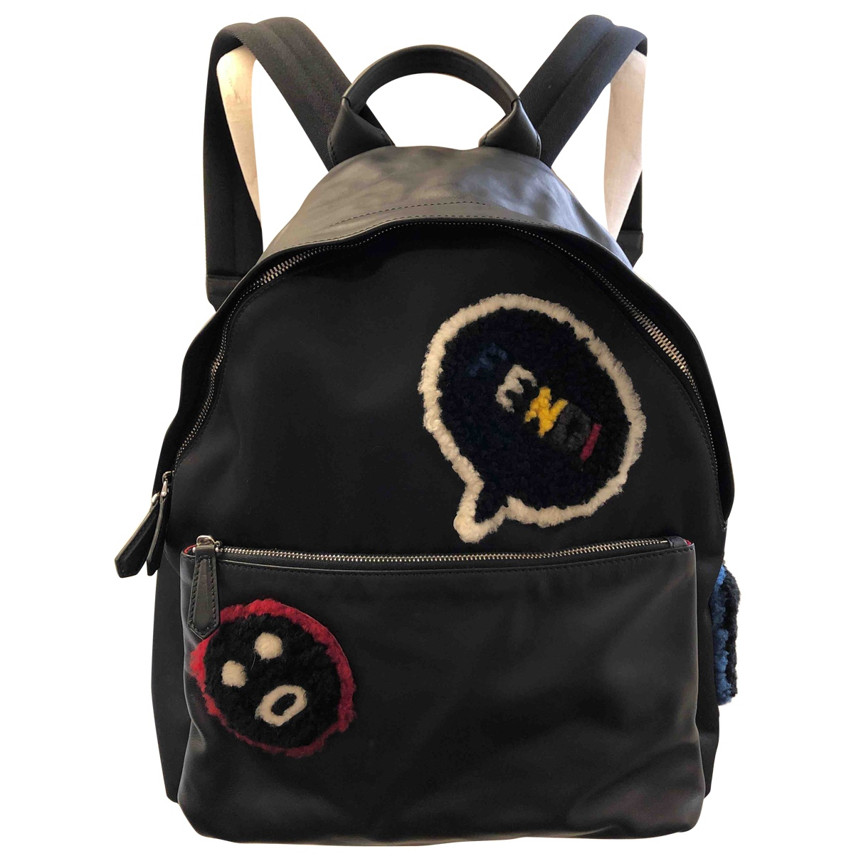 Fendi \N Black Cloth bag for Men \N
