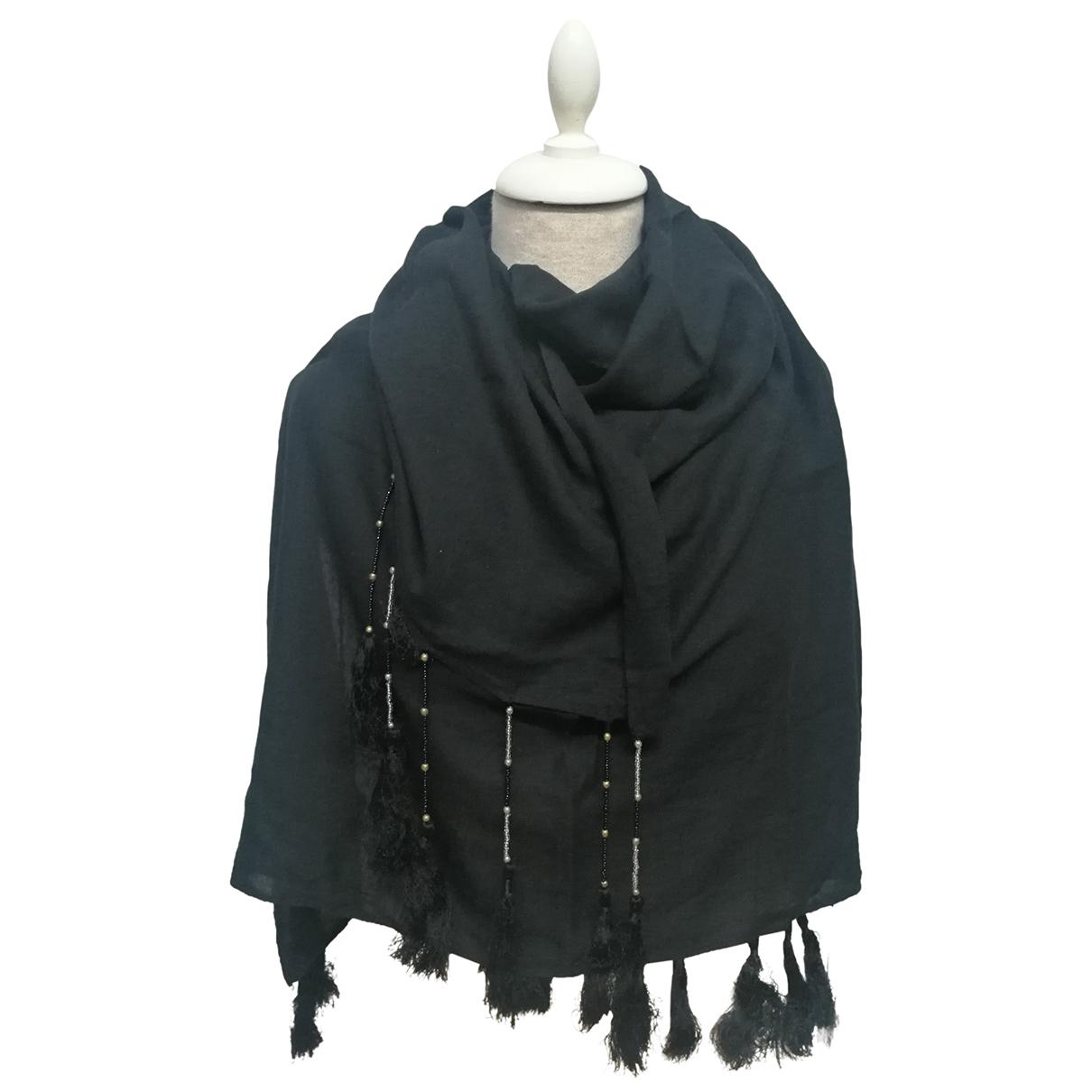 Essentiel Antwerp N Black Cotton scarf & pocket squares for Men N