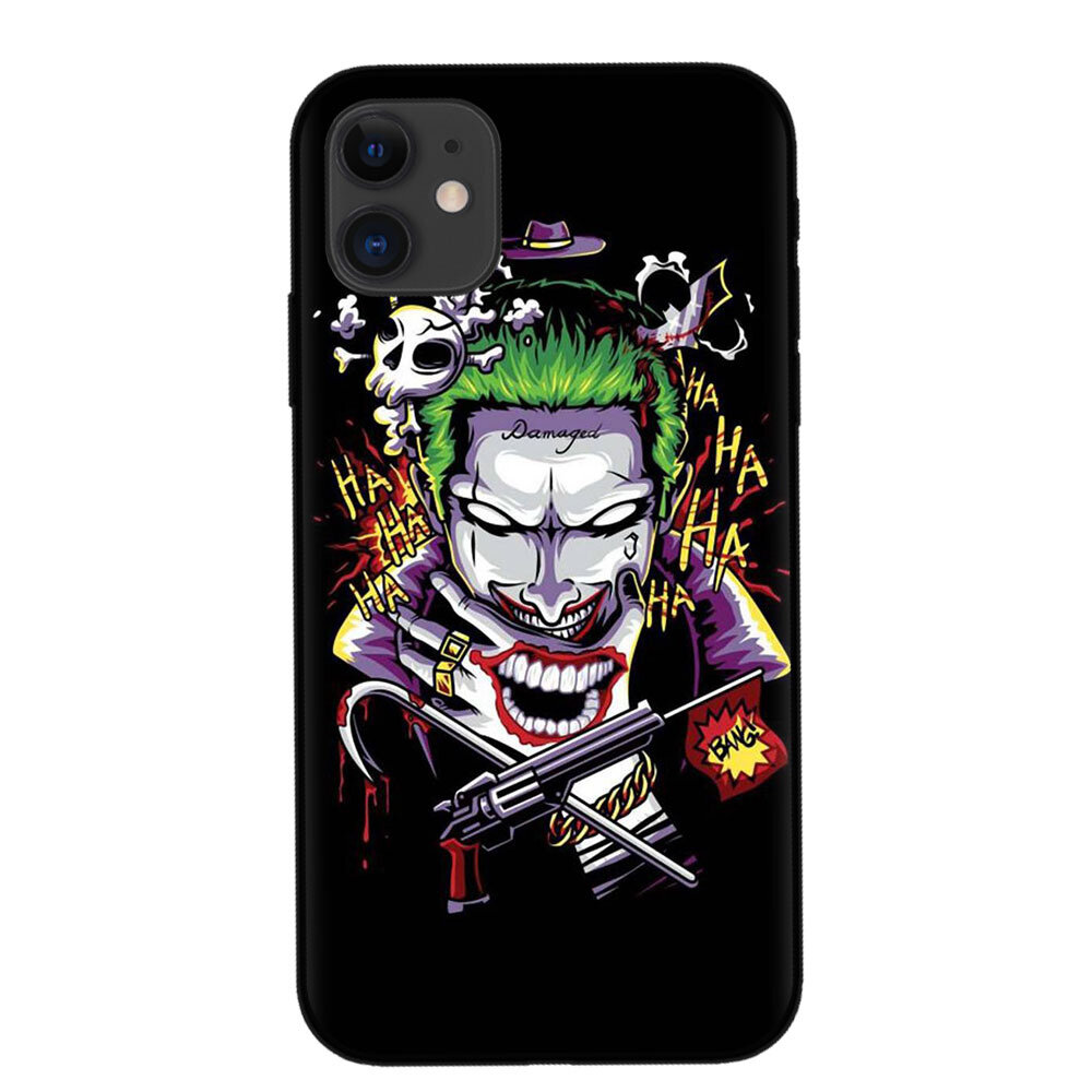 Women&Men Oil Painting Style Personality Clown pattern Phone Case