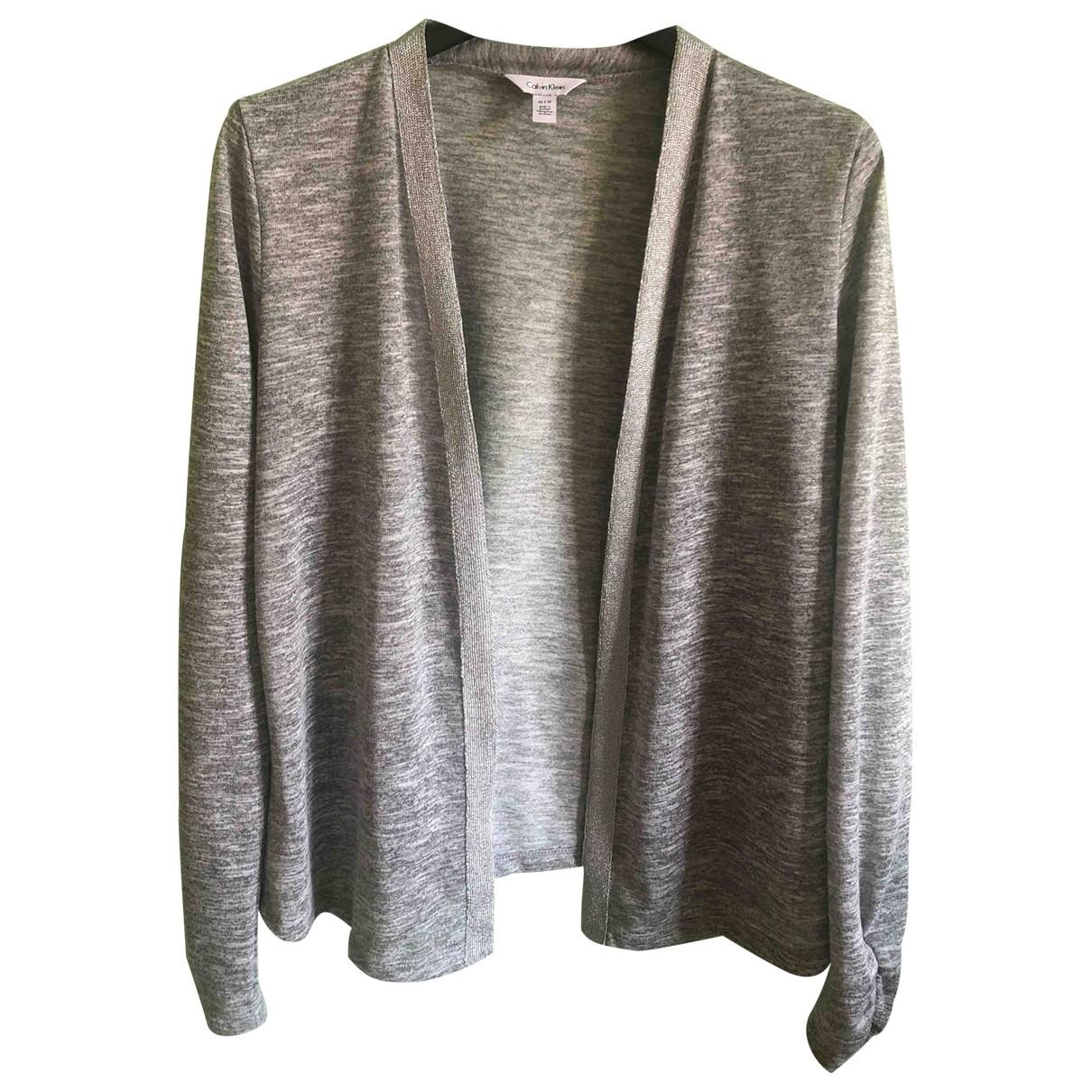 Calvin Klein \N Pullover in  Grau Polyester