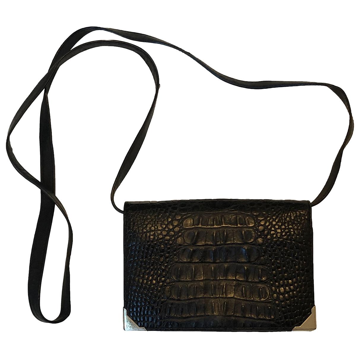 Alexander Wang \N Black Leather Purses, wallet & cases for Women \N