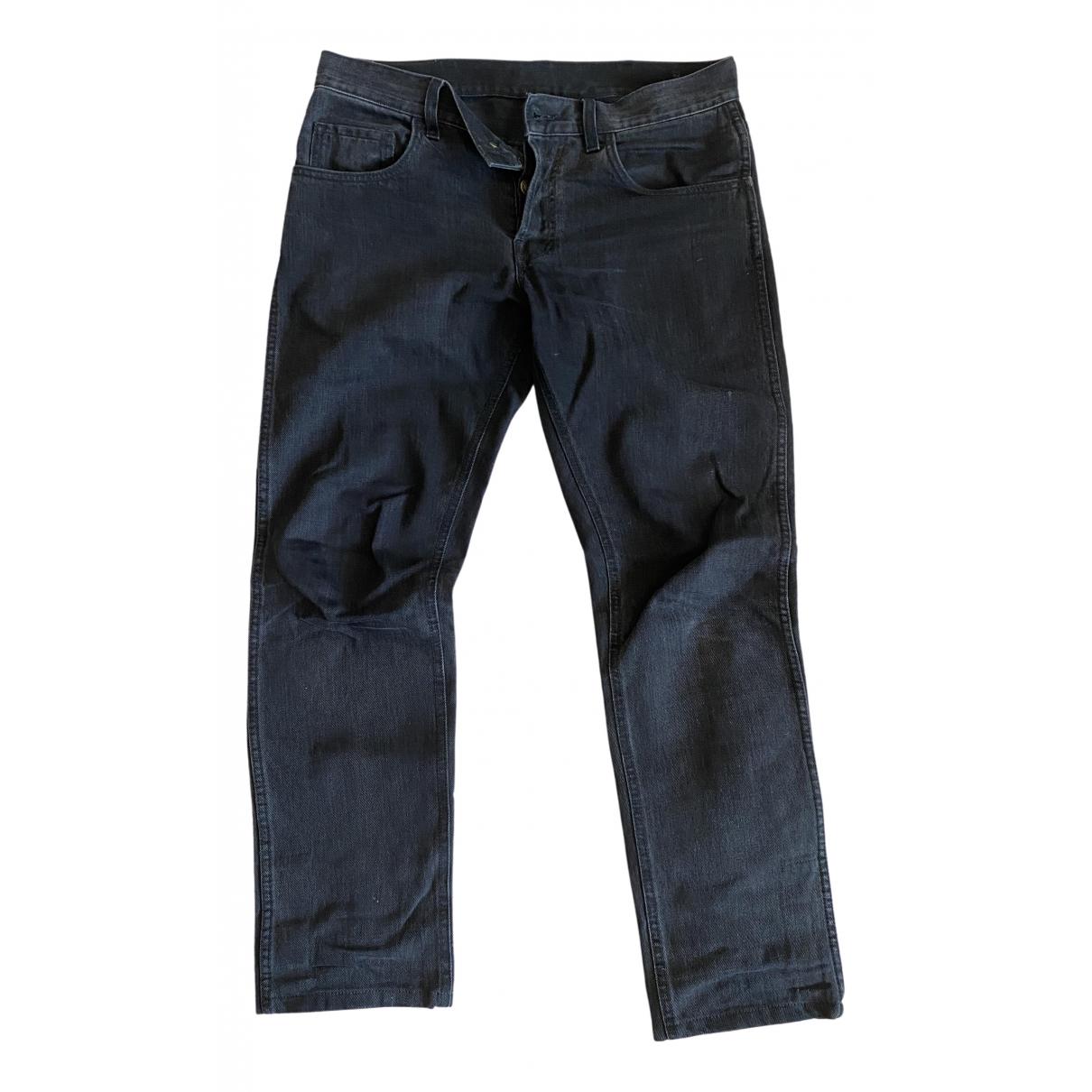 Gucci \N Black Cotton Jeans for Men 31 US