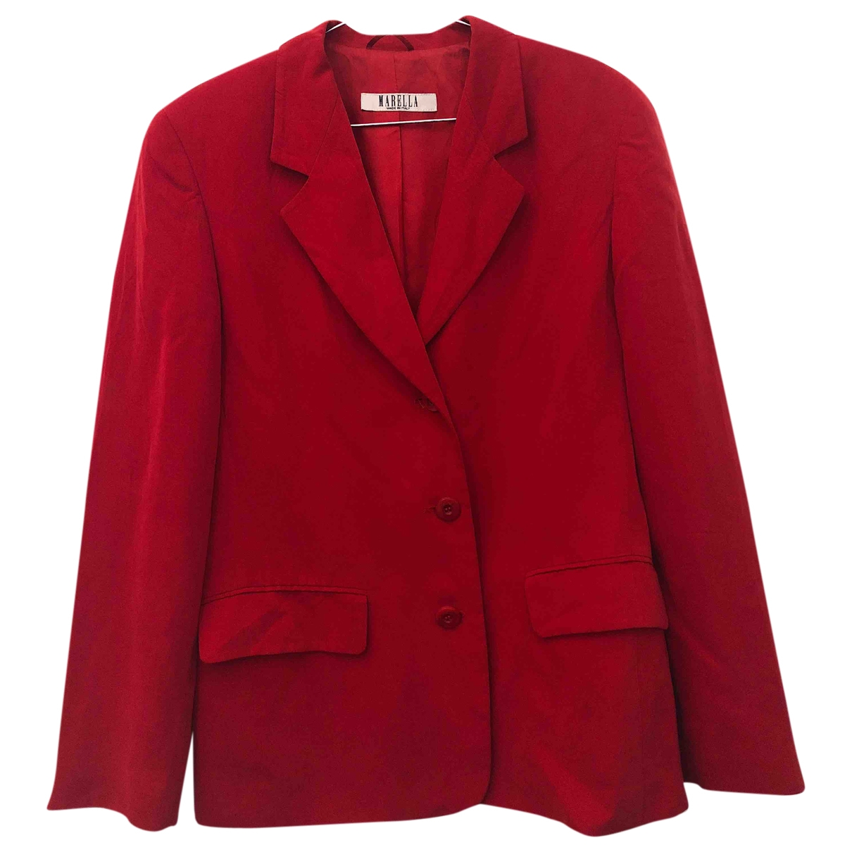 Marella \N Red jacket for Women 44 IT