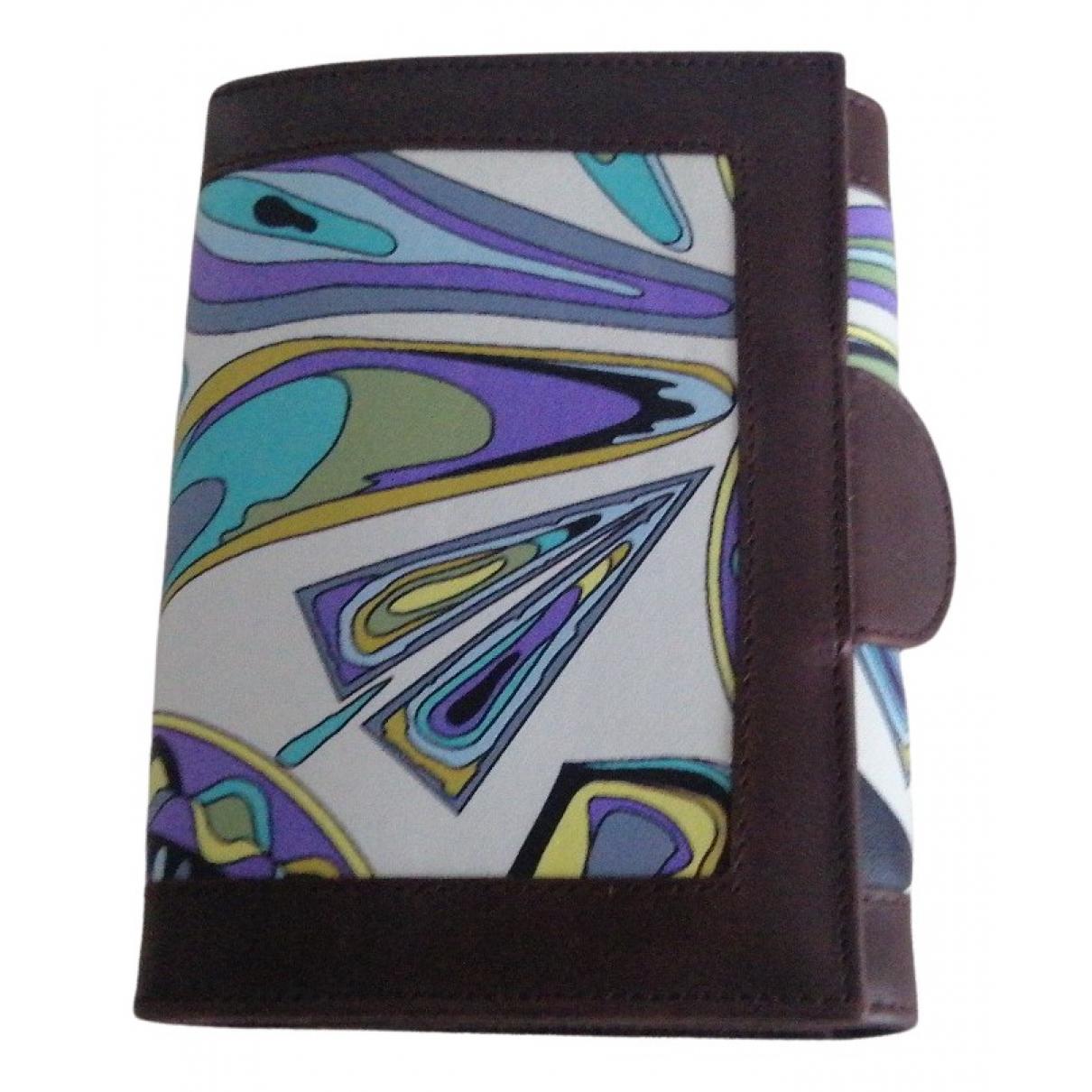 Emilio Pucci - Objets & Deco   pour lifestyle en cuir - multicolore