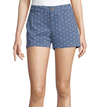 a.n.a Womens 3.5'' Chino Short, 14 , Blue