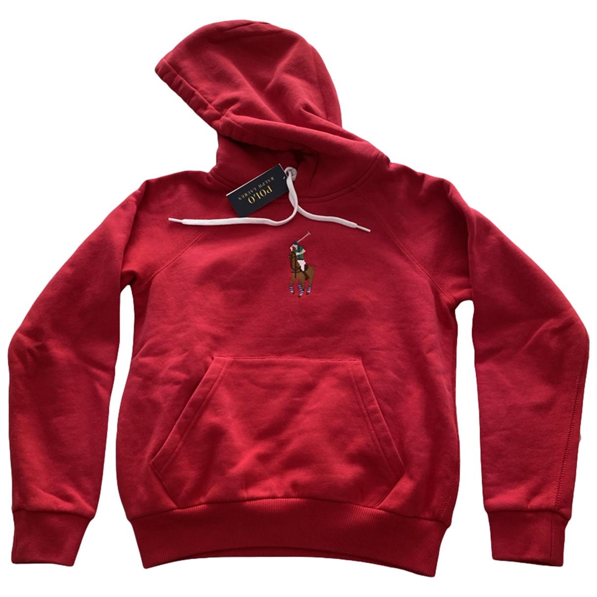 Polo Ralph Lauren \N Pullover in  Rot Baumwolle