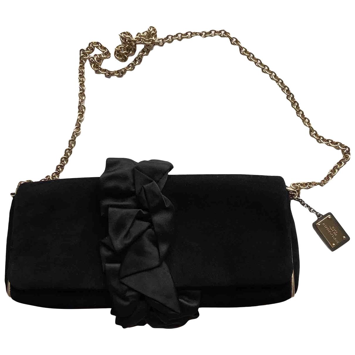Dolce & Gabbana \N Black Suede handbag for Women \N