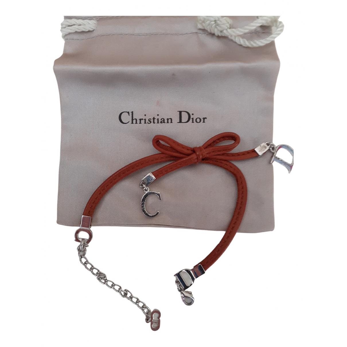 Dior \N Armband in  Braun Metall