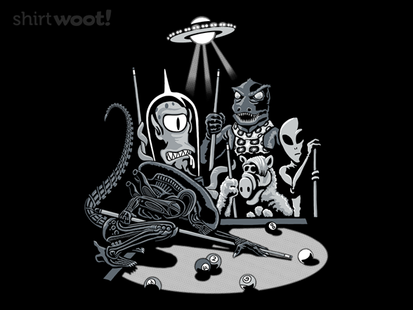 9-ball From Outer Space T Shirt