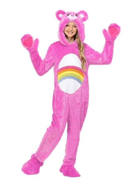 Milanoo Kigurumi Onesie Care Bears Pajamas Kids Jumpsuit