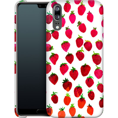 Huawei P20 Smartphone Huelle - Strawberries von Amy Sia