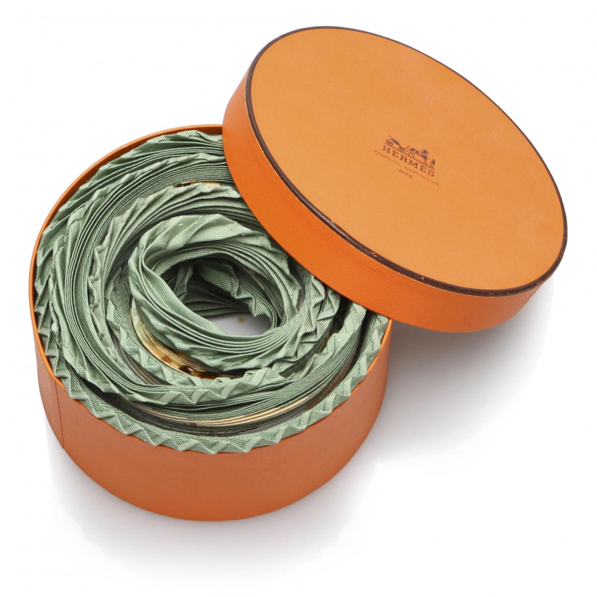 Hermes - Foulard   pour femme en autre - vert