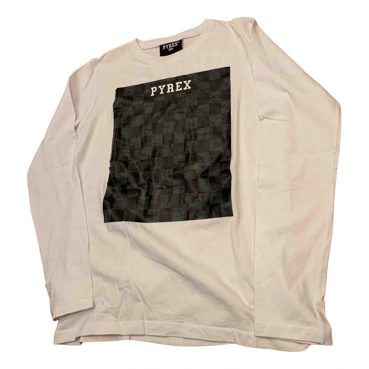 Pyrex - Top   pour enfant en coton - blanc