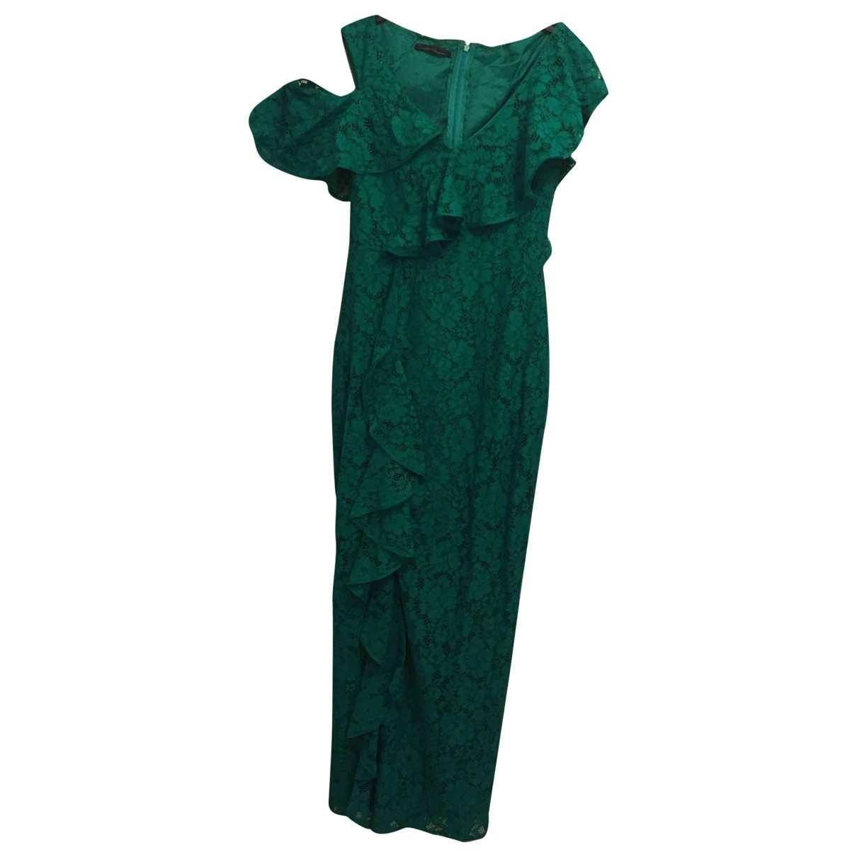 Carolina Herrera \N Green Lace dress for Women 2 US