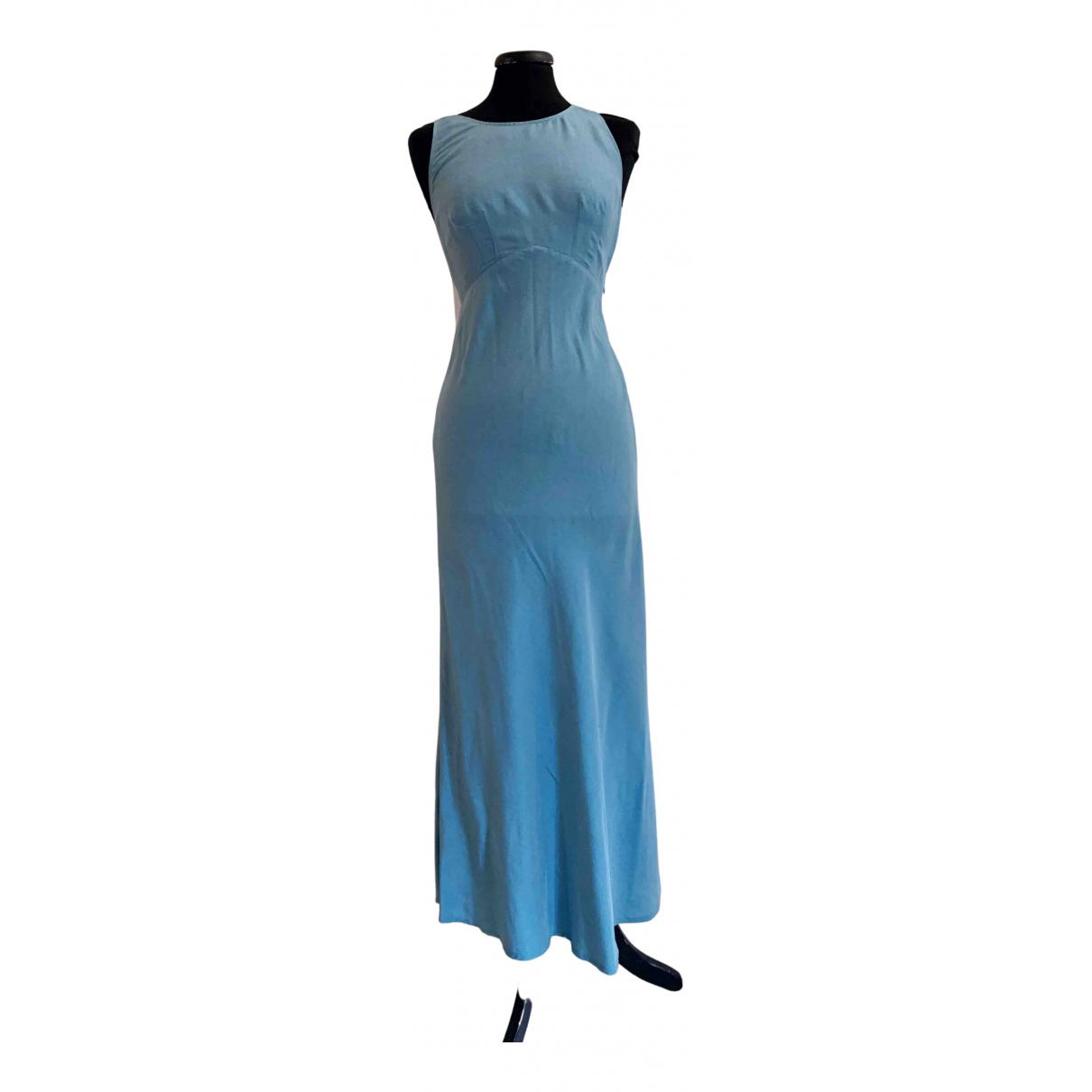 Cacharel - Robe   pour femme en soie - turquoise