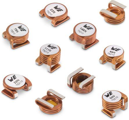 Wurth Elektronik Wurth 22 nH ±20% Power Inductor, Max SRF:867MHz, Q:280, 40A Idc, 550μΩ Rdc, WE-AC HC (450)