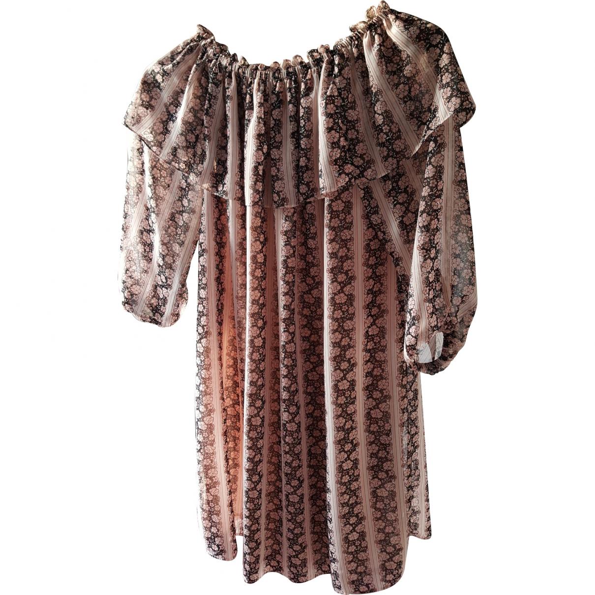 Claudie Pierlot \N Kleid in  Rosa Polyester