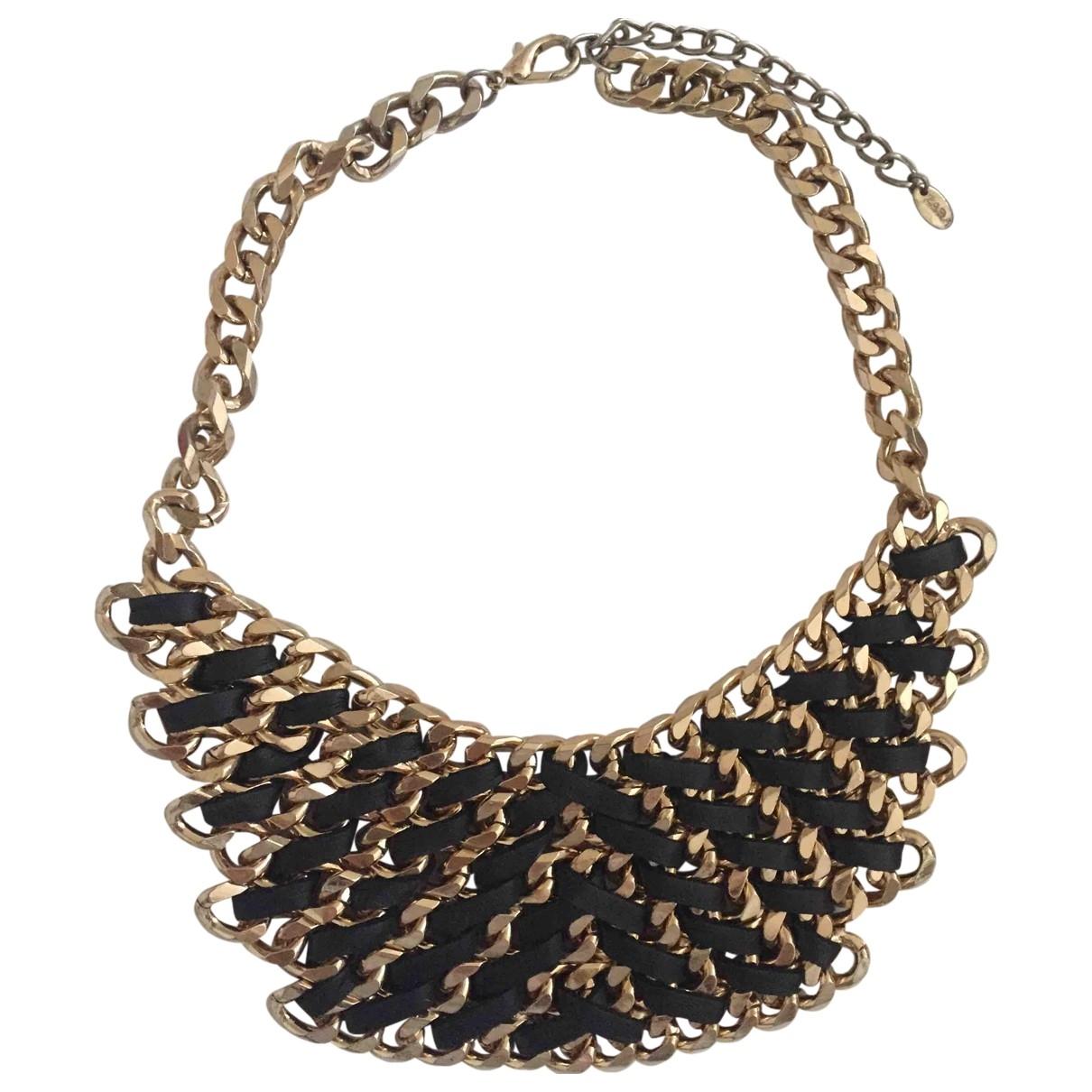 Zara \N Kette in  Gold Metall