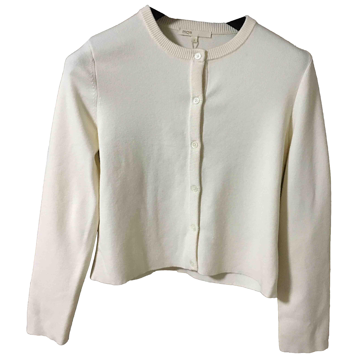 Maje N Ecru Cotton Knitwear for Women 8 UK
