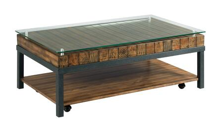 Tavern Creek-Hamilton Collection 838-910 RECTANGULAR COCKTAIL TABLE in Weathered Rustic