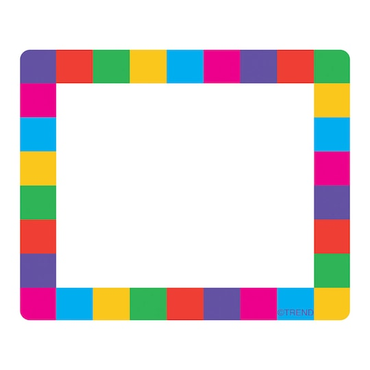 3 Pack of Trend Enterprises® Rainbow Plaid Terrific Labels™, 36Ct | Michaels®
